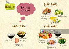 Thực đơn giảm cân trong 1 tuần: Ngày 3 - Bổ sung protein - http://congthucmonngon.com/203598/thuc-don-giam-can-trong-1-tuan-ngay-3-bo-sung-protein.html