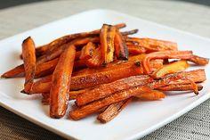 Domácí mrkvové hranolky recept