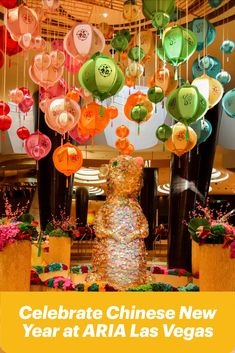 It's the Year of the Rat and there's no better place to celebrate Chinese New Year than in Las Vegas! Visit ARIA Las Vegas, who's main lobby is adorned in celebratory décor to honor the Year of the Rat through February