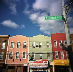 Like Western Brooklyn, Astoria is a mere hop, skip, and stone's throw away from Manhattan–and the neighborhood I've affectionately called home for the last three years. Astoria Queens, Queens Nyc, Manhattan, Brooklyn Nyc, Wish You Are Here, Day Trips, New York City, The Neighbourhood, Bane