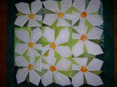 Paper pieced pattern is by Tracy Trevethan Designs