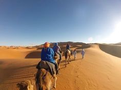 Going for Camel Trekking Morocco Tours spend lovely time under the nomadic tents in Erg Chebbi dunes.