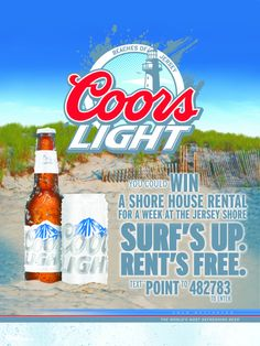 Win a Shore House Rental for a week at the Jersey Shore!! Text POINT to 482783 to enter.