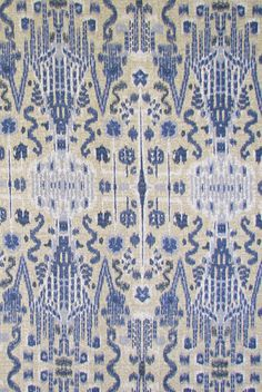 Bombay in Indian Blue from Lacefield Designs #cotton