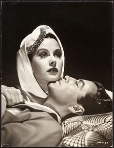 Hedy Lamarr and Robert Taylor in Lady of the Tropics (MGM, 1939)