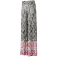 About A Girl Knit Palazzo Pants - Juniors