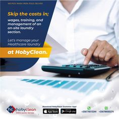 Worried about cost-saving measures for your business? Why not subscribe to any of the #Hobyclean Business laundry packages and save costs on labor, water, and electricity? Just call/WhatsApp us +256788505274 To know more 👉 Subscribe or Download our Hobyclean Digital laundry app or 🔗www.hobyclean.com #Hobyclean #stains #stainremoval #laundry #laundryservice #laundryday #laundrykiloan #laundrycoin #laundryekspress #laundryroom #laundrytime #coinlaundry #speedqueen #laundrysatuan #carpetcleaning Laundry App, Online Laundry, Coin Laundry, App Store Google Play, Laundry Service, Cost Saving, How To Clean Carpet, No Worries, Health Care