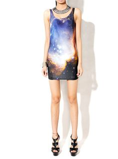 62b0623629 Galaxy Handprinted Dress by SWonderland on Etsy, $45.00 Stampa Di Galassia