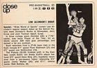 For Sale - 1969 tv basketball ad ~ Lew Alcindor in his NBA Debut ~ Milwaukee Bucks/Jabbar - See More At http://sprtz.us/BucksEBay