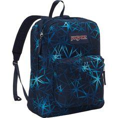 JanSport Superbreak Backpack- Discontinued Colors - JanSport Navy... ($36) ❤ liked on Polyvore featuring bags, backpacks, blue, jansport backpack, pocket bag, navy bag, handle bag and jansport bags