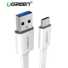 Ugreen usb type c кабель 3.1 usb type c chager кабель для передачи данных usb с кабель мобильного телефона для xiaomi oneplus 2 nexus 6 p 5x zuk z1 z2 MAC купить на AliExpress