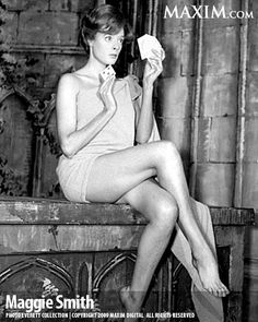 Maggie Smith - Enough to tempt even Prof Dumbledor (grin)