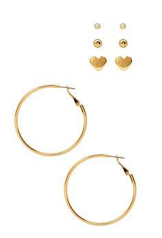 Favorite Earring Set | FOREVER21 - 1000069185