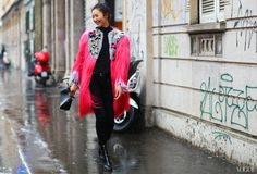 Fendi coat Milan Fashion Week Fall 2013 Photographed by Phil Oh