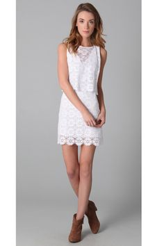 Rebecca Minkoff Jemme Lace Dress, $119.40, available at Shopbop.