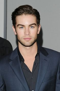Chace crawford's cool clean cut very current in today's fashion world.