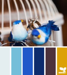Color palette for a nursery