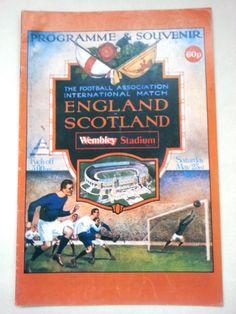 England v Scotland FA International Football Programme 23/05/1981 Listing in the Other,International Fixtures,Football (Soccer),Sports Programmes,Sport Memorabilia & Cards Category on eBid United Kingdom