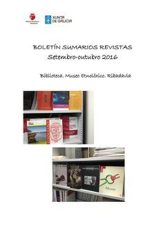 Boletin sumarios revistas setembro outubro 2016