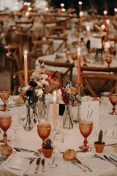 boho chic rust orange fall wedding centerpieces Floral Wedding, Wedding Colors, Rustic Wedding, Wedding Ideas, French Wedding, Fall Wedding Inspiration, Wedding Blog, Eclectic Wedding, Fall Wedding Flowers