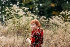 I feel quite Wuthering Heights in this look--completely with a windy day and overgrown field...