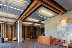 Acoustics | Gordon, Inc. | Pattern B AVIAR Panels | Aviar Custom Ceiling System | Metal Ceiling Systems | Architect - Freiheit & Ho Architects | Architect Location - Kirkland, WA | www.gordon-inc.com