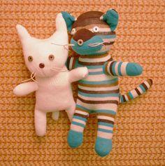Sock Cat & Glove Cat