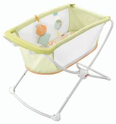 Fisher-Price Rock and Play Portable Bassinet  #baby #shopping #style afflink