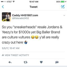 ������♂️������ Some of y'all are CRAZY!!! Former #ChinoHills & #UCLA star #LonzoBall & his Dad #LavarBall have debated the 1st #BigBallerBrand sneaker. The #ZO2Prime retails at $495 #BBB #sneakers #kicks #sneakernews #NBA #Kickstagram #kicks #blackbusiness #supportblackbusiness #business #entrepreneur  #new #news #icymi #instafollow #follow #famous #2017 #dope #instagood #media #journalist #melanin #celebrity #celebrities http://tipsrazzi.com/ipost/1508068381806155691/?code=BTtvDQCjder