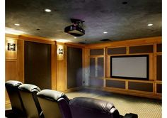 Home Theater - Home and Garden Design Ideas