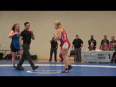 2016 ONT SR PROV FW67kg Shauna Kuebeck (Brock) vs Michalia Walls (Western)