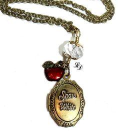 Snow White Locket Necklace