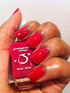 Pomegranate Nail Lacquer - Rampant
