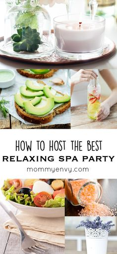 Are you in need of a girls' night? You could throw an amazing spa party for your friends with these awesome tips for food, decor, and even favors!