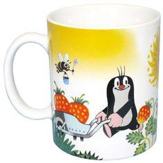 Die Tasse mit dem Maulwurf, bekannt aus der Sendung mit der Maus.