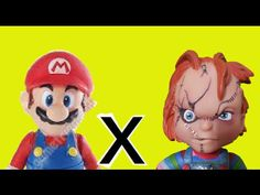 Super Mario Bros Nintendo Game Jogo  X Chuck Child's Play  boneco brinqu...