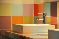tile in fun colors