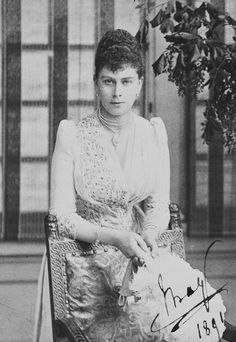 Queen Mary (1867-1953) when Princess Victoria Mary of Teck | Royal Collection Trust