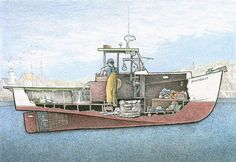 Peek Below Ship Decks In Illustrations Inspired By My Time At Sea ...
