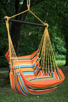 Hammock chair, made in El Salvador