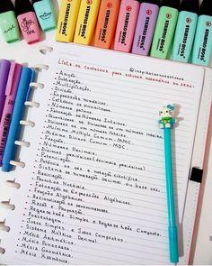 É agr que tiro positiva a matemática 😂🤣 Bullet Journal, Office Supplies, Notebook, Desk Supplies, The Notebook