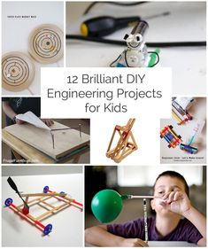 Fun and creative ideas for the little tinkerer!