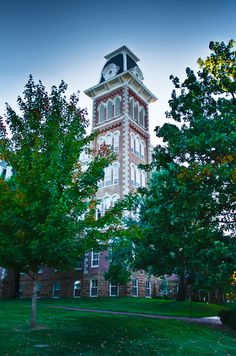 Old Main, University of Arkansas. Chi Omega was founded at the university. Places To Travel, Places To See, Places Ive Been, University Of Arkansas Fayetteville, First Year Of College, Shot In The Dark, Arkansas Razorbacks, Southern Belle, Back Home