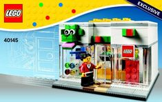 Download LEGO instructions on your computer or mobile device for LEGO Store set number 40145 to help you build these LEGO sets.