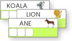 Atelier des mots Code Alphabet, Math Gs, Preschool Education, Montessori, Worksheets, Back To School, Kindergarten, Homeschool, Learning