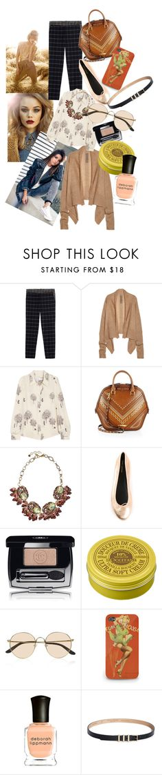 """Falling for Fall <33"" by brownish ❤ liked on Polyvore featuring Rettore, Band of Outsiders, Rick Owens, See by Chloé, Burberry, Gabriele Frantzen, Yves Saint Laurent, Chanel, L'Occitane and The Row"