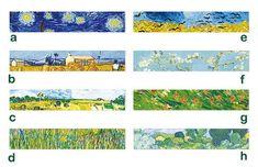 Van Gogh Inspired Washi Masking Tape Designs New 2017 Van