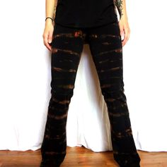 Hand dyed leggings from Iconic Locks on Etsy. Alternative upcycled fashion. Casual and active wear. Be comfy ans stylish https://www.etsy.com/shop/IconicLocks?ref=hdr_shop_menu&section_id=6316217