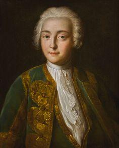 Louis Caravaque, Tsesarevna Elizabeth Petrovna, 60 x 48cm.jpg