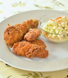 Jižanské smažené kuře — Kluci v akci — Česká televize No Salt Recipes, Poultry, Meat, Chicken, Ethnic Recipes, Tattoo, Halloween, Cooking, Essen